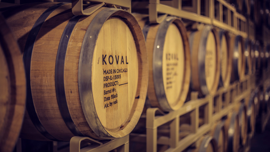 KOVAL Distillery Chicago barrels2