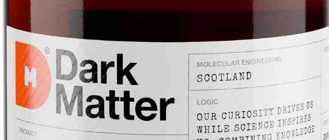 Dark Matter Scottish spiced rum bottle as a featured image
