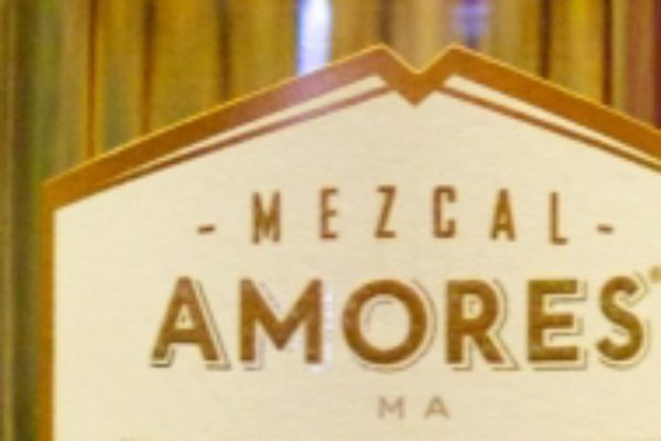 Mezcal Amores bottle labels