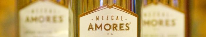 Mezcal Amores bottle labels