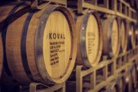 KOVAL Distillery Chicago barrels2
