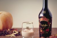 Baileys Pumpkin Spice Bottle and glass of Baileys