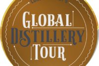 Detail from the cover of Lonely Planet's Global Distillery Tour guide to world distilleries